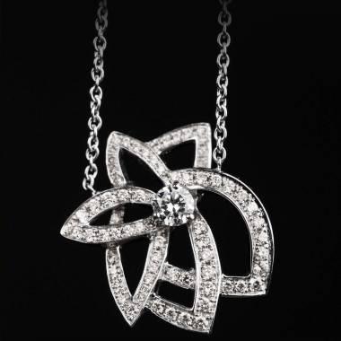 英仙座 钻石项链