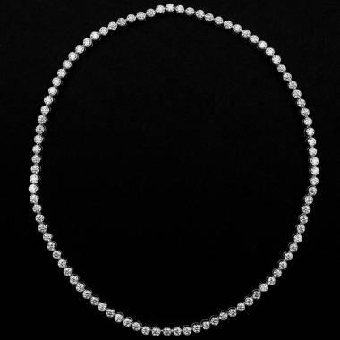 明珠钻石项链