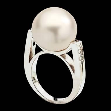 波拉公主白珍珠戒指