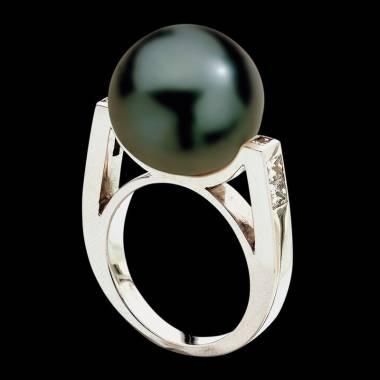 波拉公主黑珍珠戒指