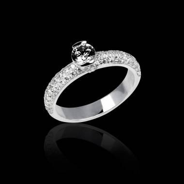 俄耳甫斯 黑钻石戒指