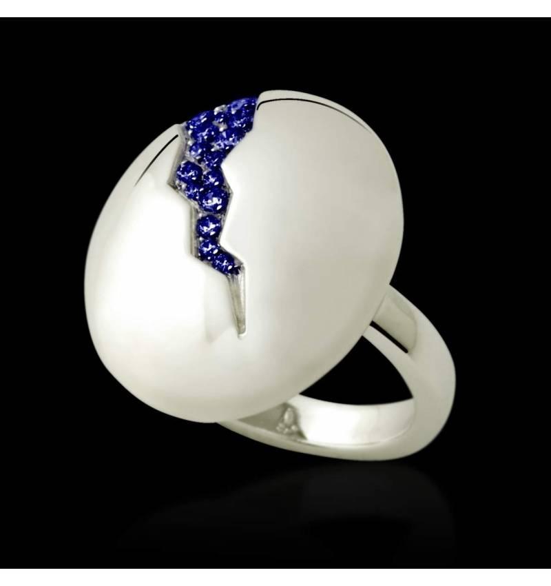 Quake 蓝宝石戒指