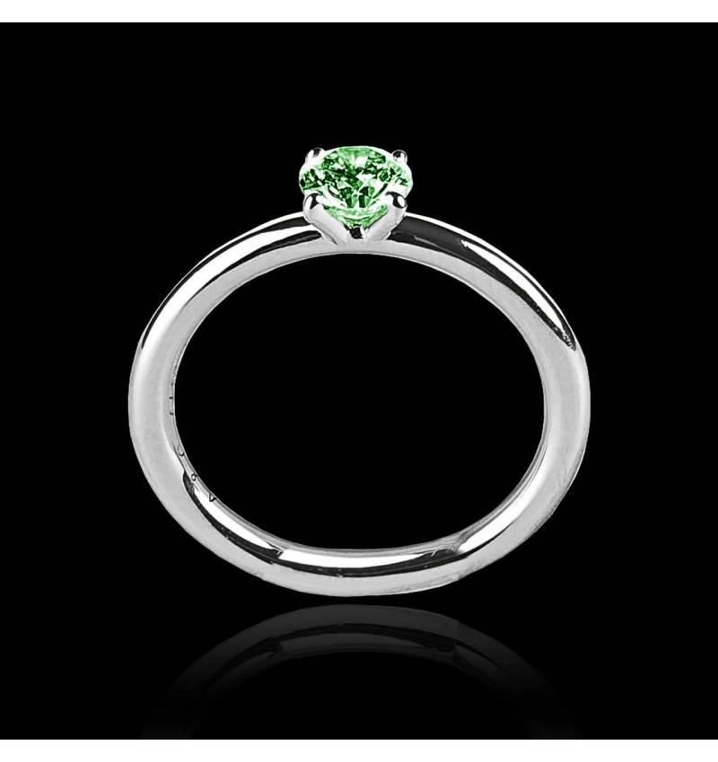 安雅  单颗祖母绿戒指