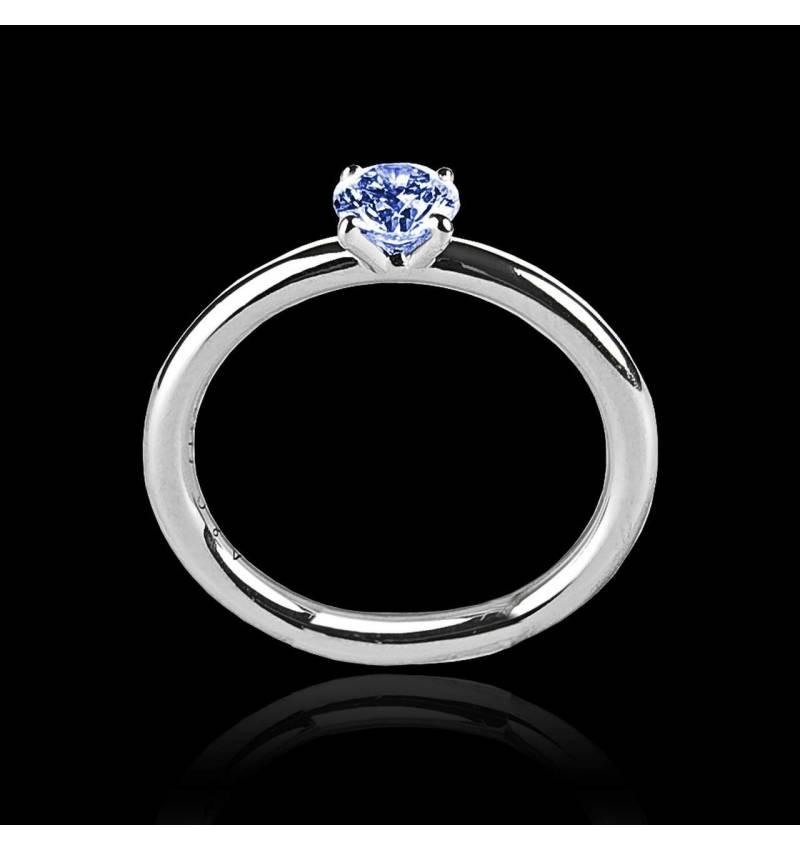 安雅  单颗蓝宝石戒指