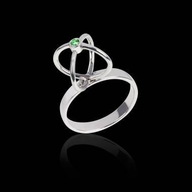 Cage 祖母绿戒指