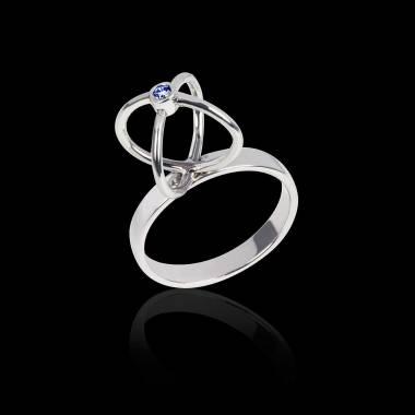 Cage 蓝宝石戒指