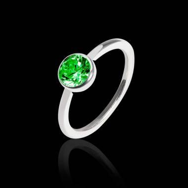 CristinaCristina K金单颗祖母绿戒指
