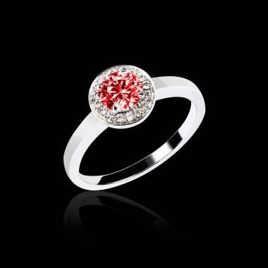 瑞卡Solo 单颗红宝石戒指