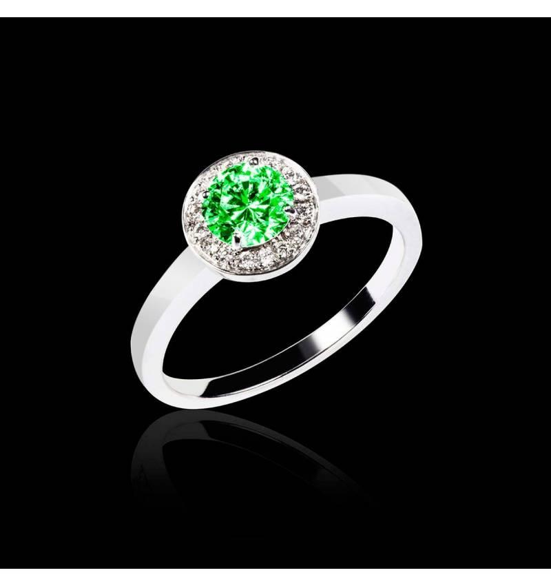 瑞卡Solo 单颗祖母绿戒指