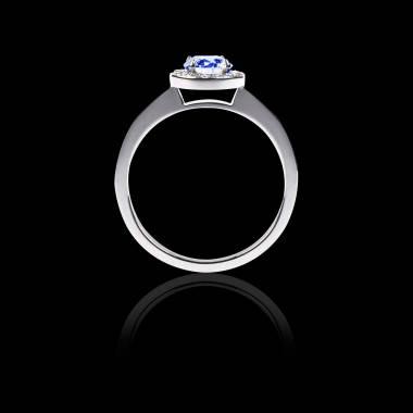 瑞卡Solo 单颗蓝宝石戒指