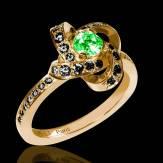 Chloe 祖母绿戒指