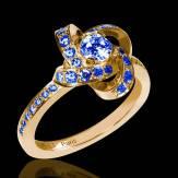 Chloe 蓝宝石戒指