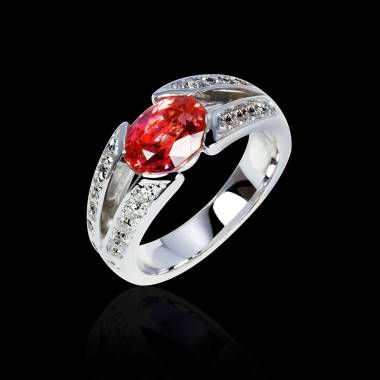 伊莎贝尔 红宝石订婚戒指