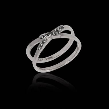 蒂芙尼 黑钻戒指