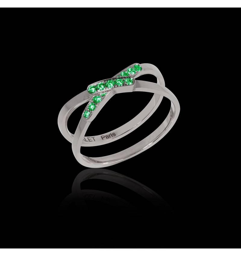 蒂芙尼 祖母绿戒指