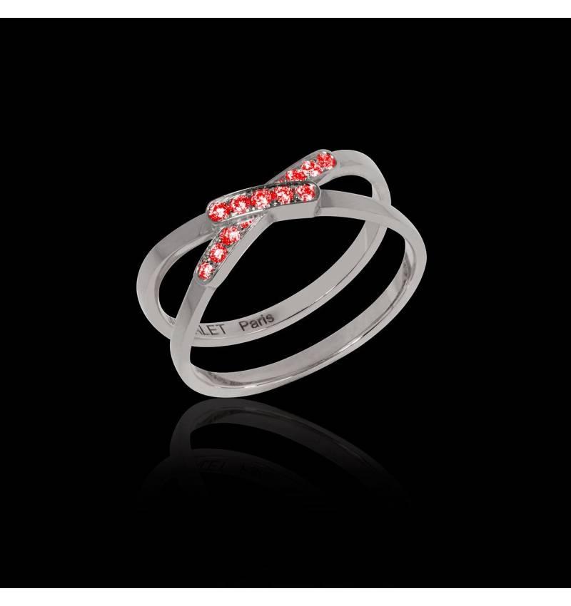 蒂芙尼 红宝石戒指