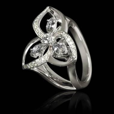 星辰钻石戒指
