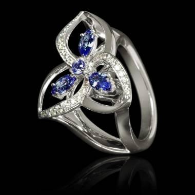 星辰蓝宝石戒指