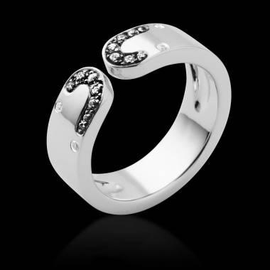 迷惑 黑钻戒指