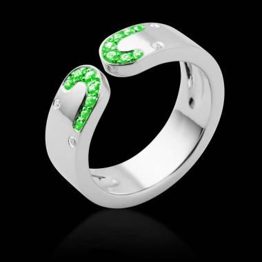 迷惑 祖母绿戒指