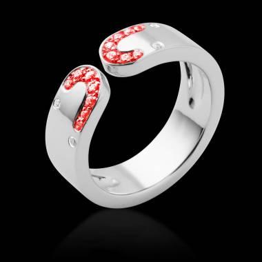 迷惑 红宝石戒指