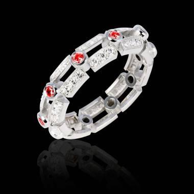 大地 红宝石戒指