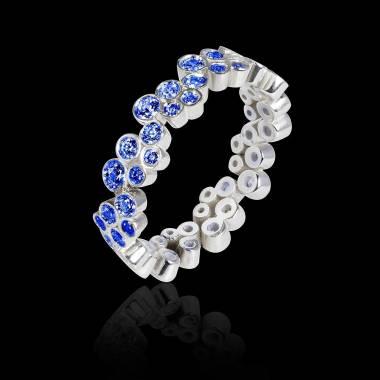 海王星 蓝宝石戒指
