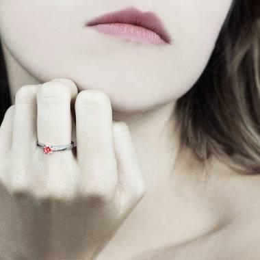 玛利亚 红宝石戒指
