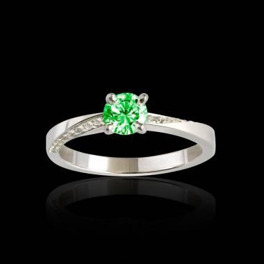 玛利亚 祖母绿戒指