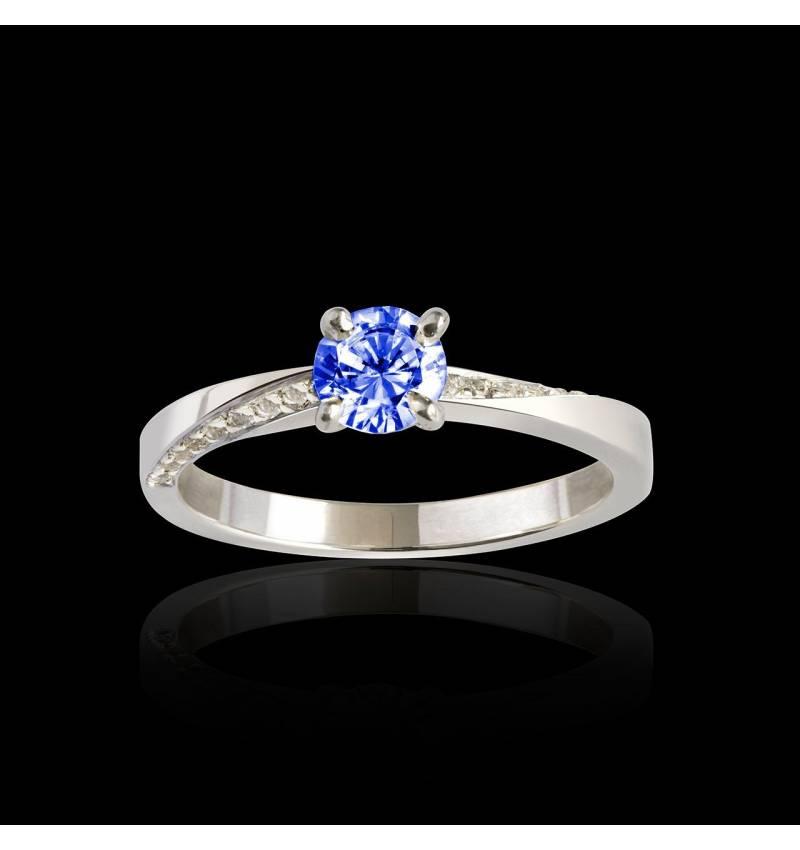 玛利亚 蓝宝石戒指