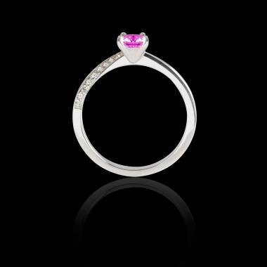 玛利亚 粉红蓝宝石戒指