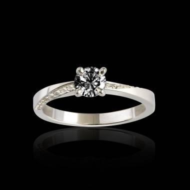 玛利亚黑钻戒指