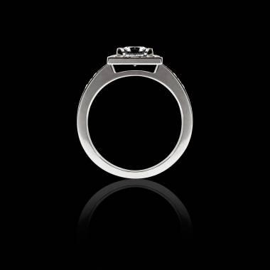 佩兰 黑钻订婚戒指
