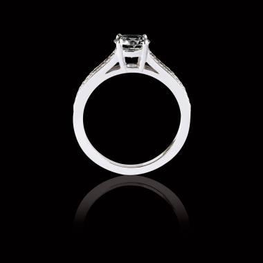 玛丽 黑钻订婚戒指