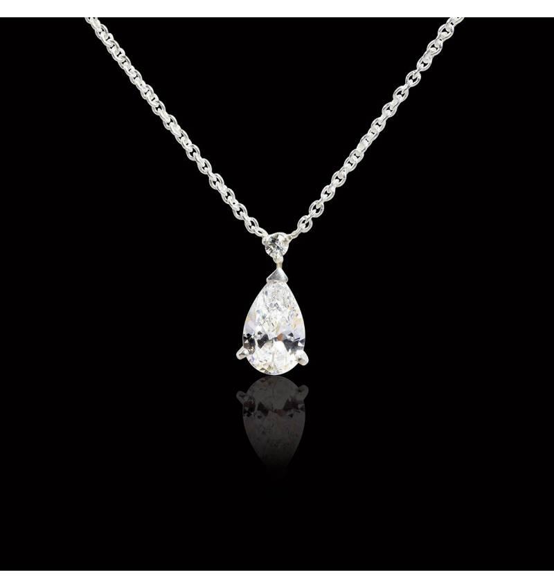 水滴之爱 钻石项链