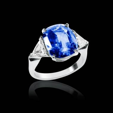斯蒂芬妮 蓝宝石戒指
