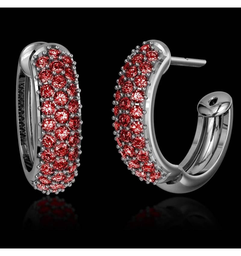 红树林红宝石耳环