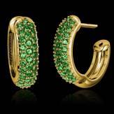红树林 祖母绿耳环