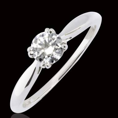 Bague diamant Laureen solo