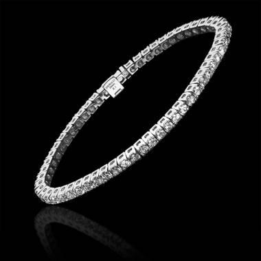 tennis 钻石手链