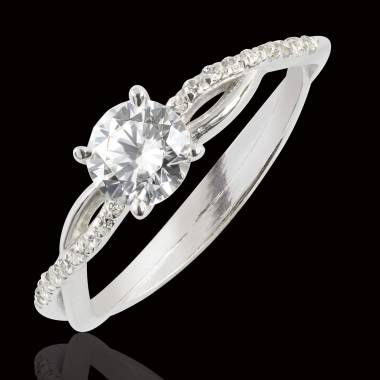 Bague de fiançailles diamant Noémie