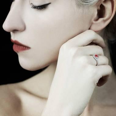 Bague rubis Lilou
