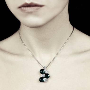 群岛黑珍珠吊坠