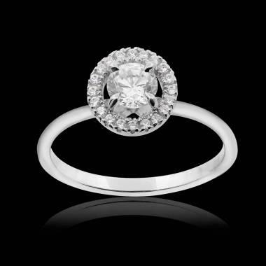 Bague diamant Isaure solo