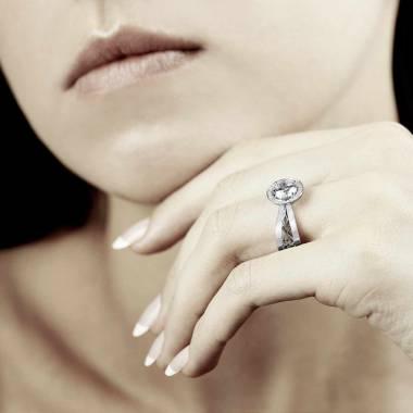 Bague diamant Barbara solo