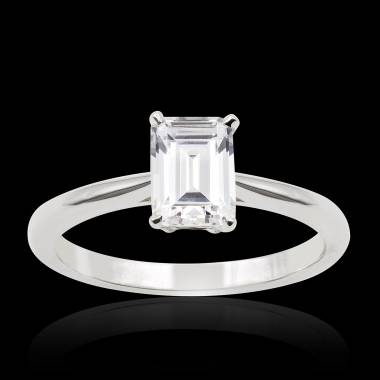 Bague diamant Jade solo
