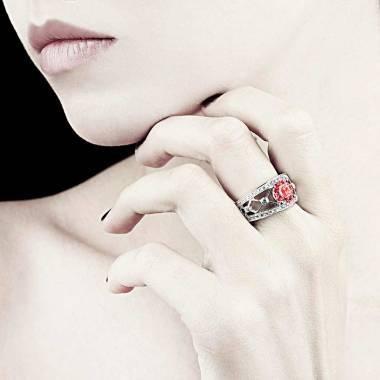 Bague Spinelle rouge Regina Suprema