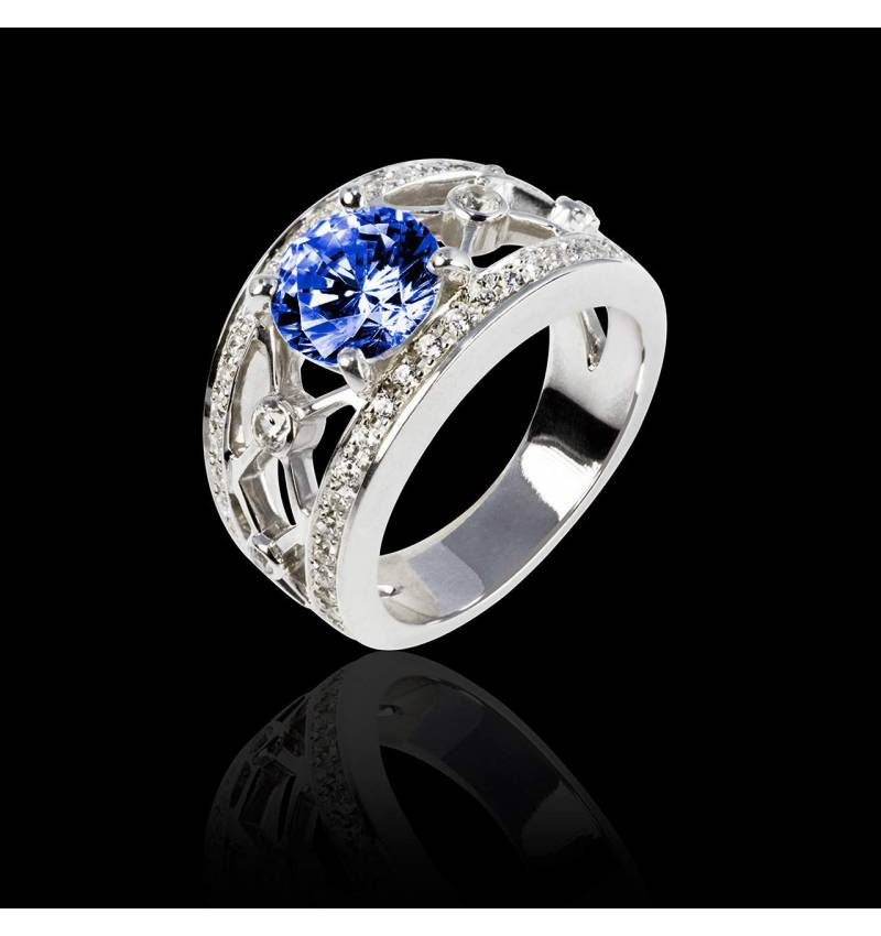 Bague Tanzanite Regina Suprema