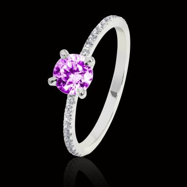 Bague Tourmaline rose Manon