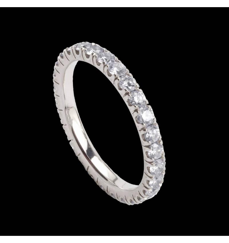 Eve 钻石镶嵌婚戒